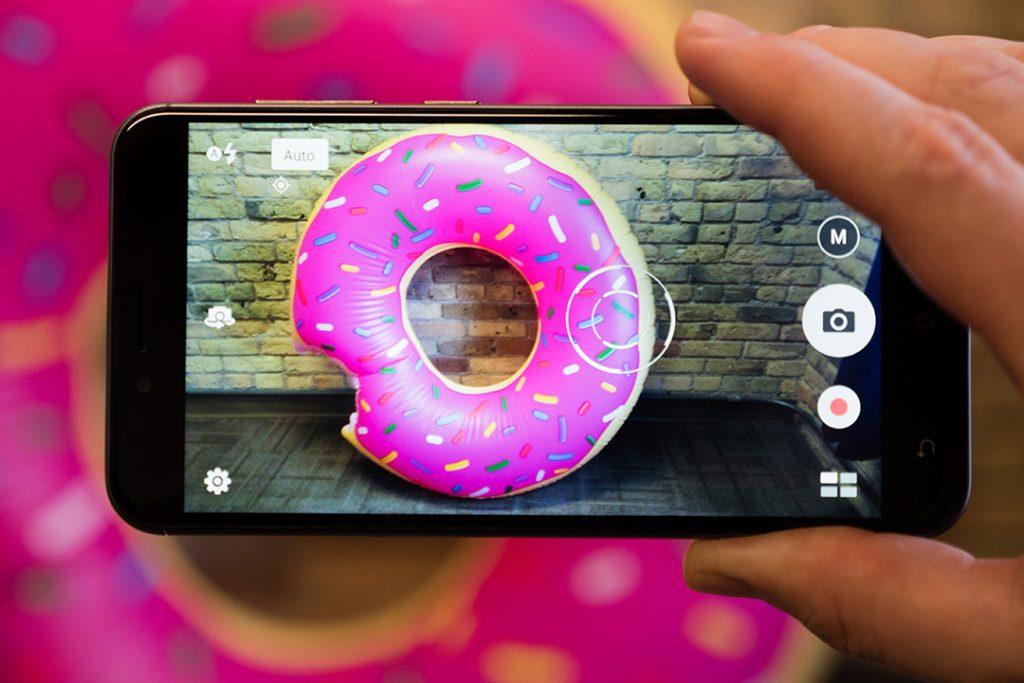 ZenFone 3 Max auto focus