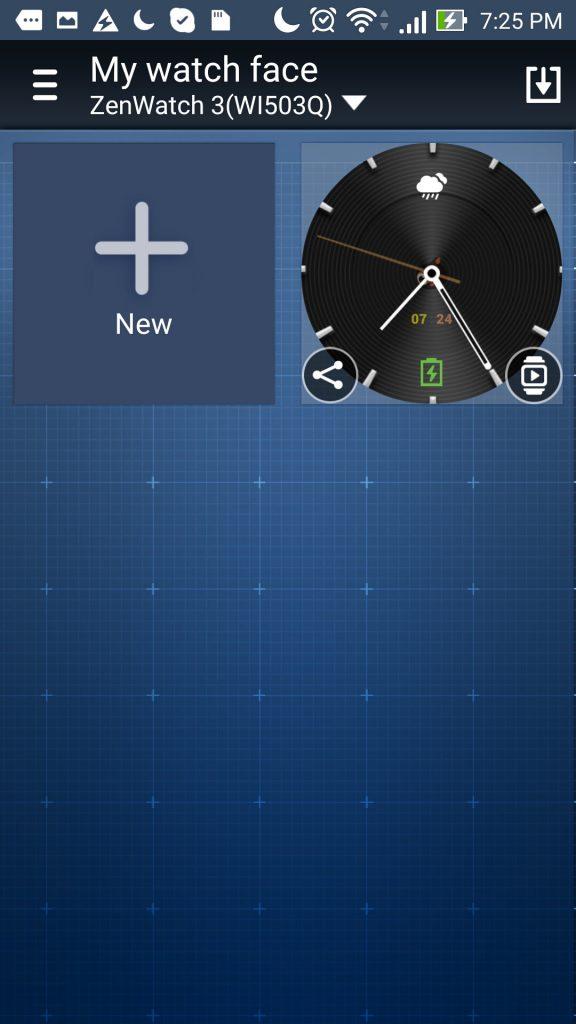 Zenwatch 3 mode ambiant