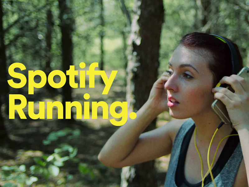 Playlist Spotify Running zenfone smartphone
