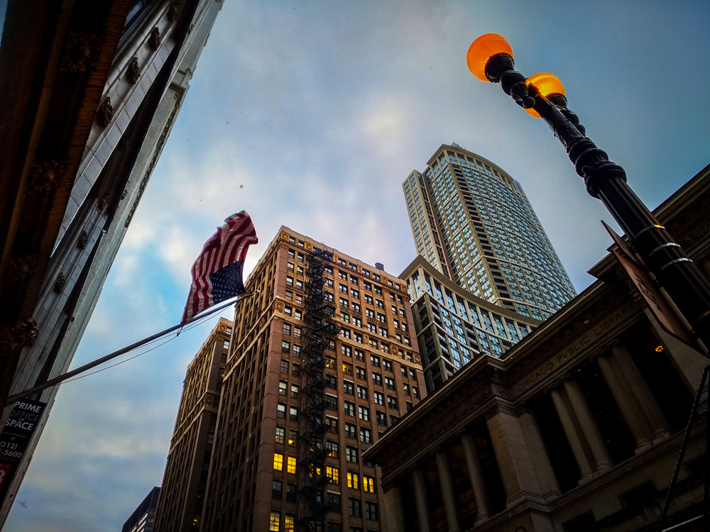 diagonales photo urbaine buildings