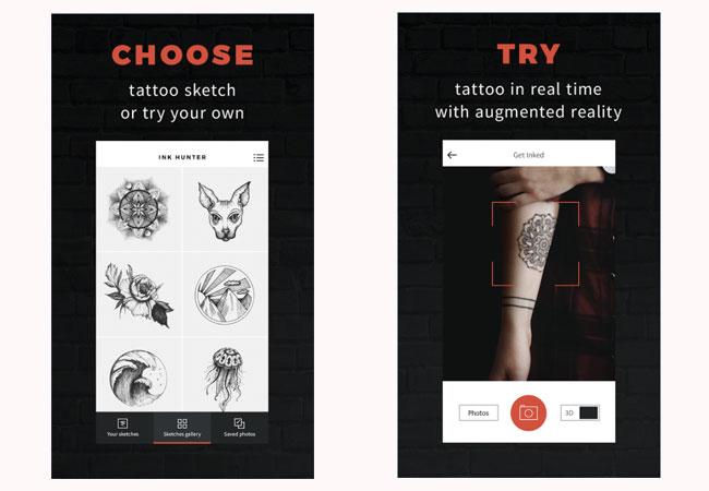 Réalité virtuelle tatouage